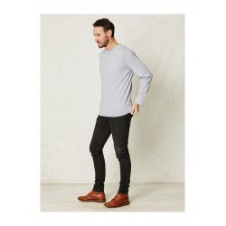 Men's striped t-shirt blue or grey