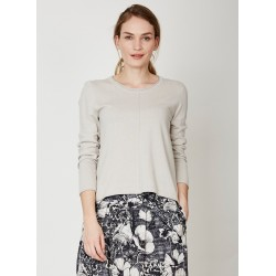 natural skirt in lyocell and organic cotton