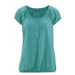 t-shirt femme chanvre vert