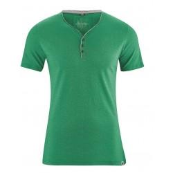 T-shirt vert en chanvre Homme - HempAge