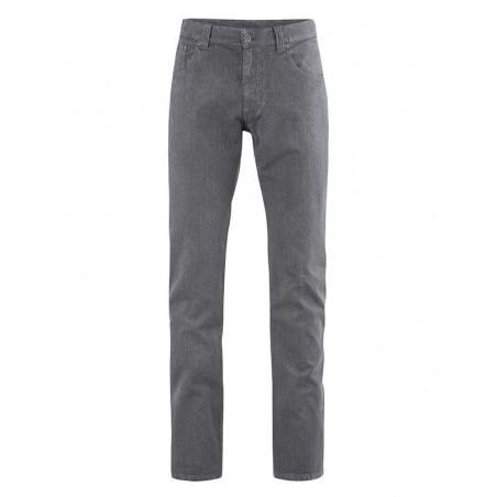 Pantalon slim en chanvre Homme gris
