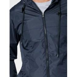veste imperméable homme bleue polyster recyclé