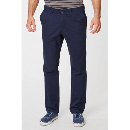 Pantalon 100% coton bio bleu pour homme