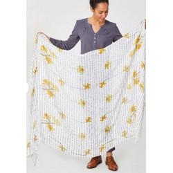 cactus bamboo scarf - Braintree