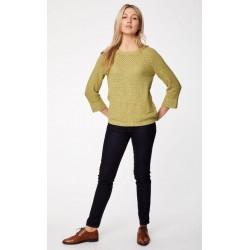Pull coton bio femme