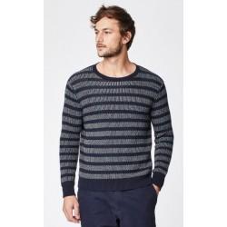 pull laine et coton bio homme