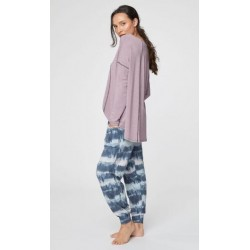Grey Loungewear bamboo sweatpants for women