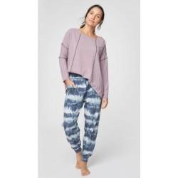 Grey Loungewear bamboo sweatpants for women
