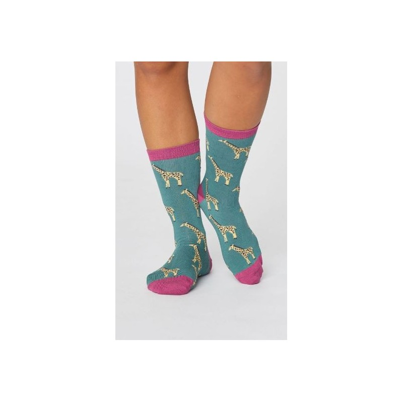fun wild animal socks feature an exclusively designed print