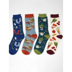 bamboo socks flowers - Braintree