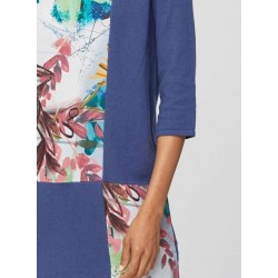 Natural woven lyocell top tunic