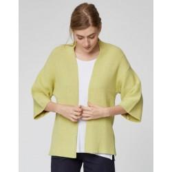 Cardigan en coton bio et laine
