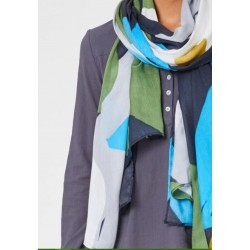 Bamboo check scarf - Braintree
