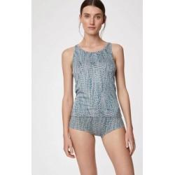 Culotte bikini en bambou et coton bio imprimés