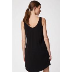 Nuisette robe noire bio bambou et coton