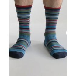 Coffret 4 paires de chaussettes homme en bambou