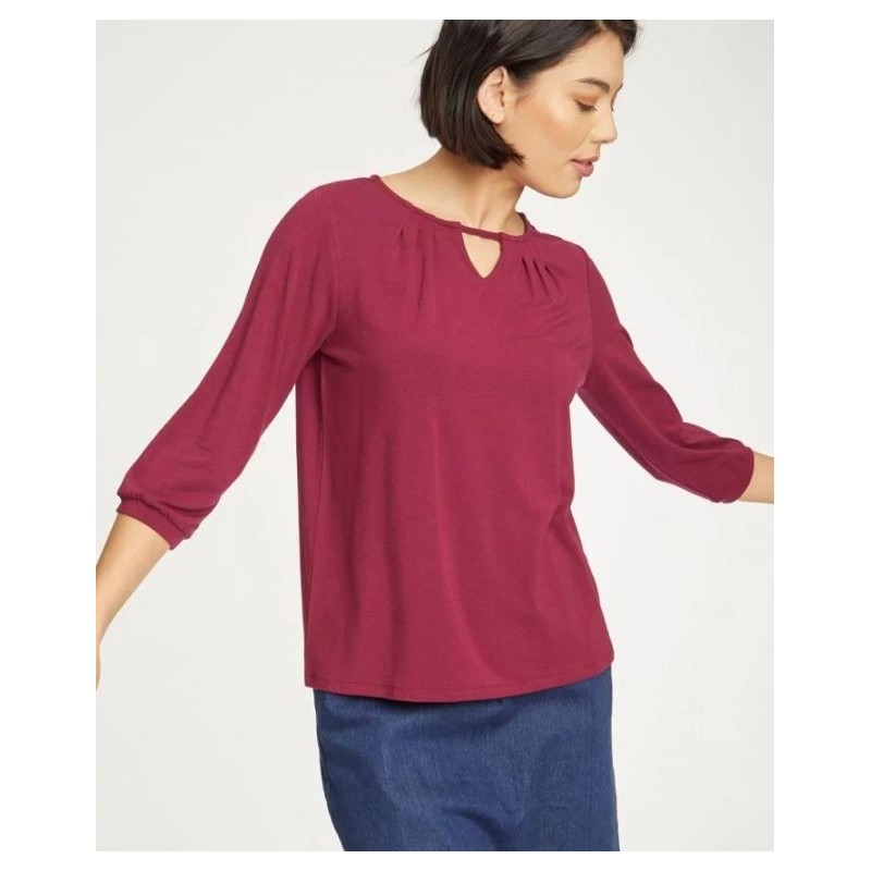 Bilberry Soft Bamboo Blouse