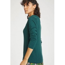 ORGANIC COTTON KNIT TOP