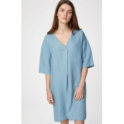 Blue Hemp Nightie with bag