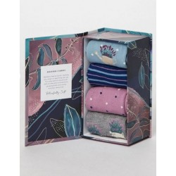 Lavander Garden Bamboo Sock Gift Box