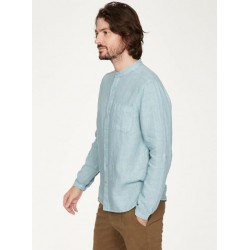 Chemise 100% chanvre Col Mao manches longues
