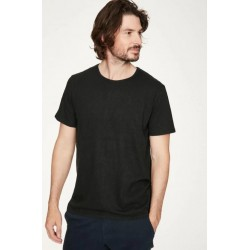 men hemp t-shirt : navy,...