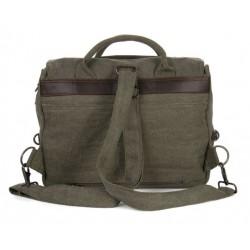 Sacoche cartable en chanvre et coton bio: 2 coloris au choix