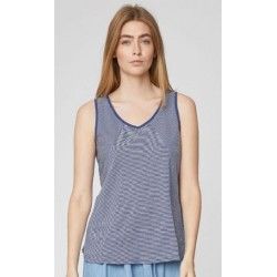 Women's Hemp Vest top: yellow or blue