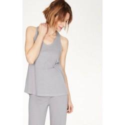 Pyjama en chanvre et coton bio gris