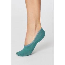 Socquettes invisibles en Bambou et coton bio : bleu marine, rose ou bleu lagon