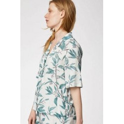Pyjama femme en coton bio short et top