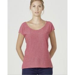 Organic cotton and hemp Vegan t-shirt for women