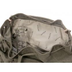 Sac à dos en chanvre et coton bio : gris ou vert
