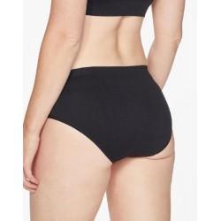 Culotte bikini en Nylon recyclé noire