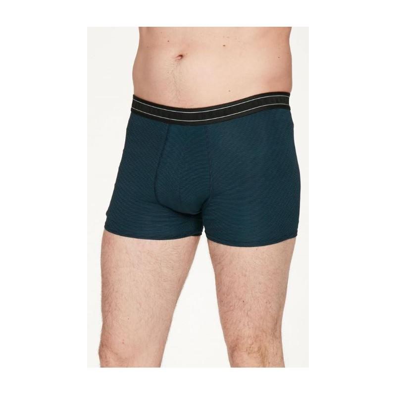 Men's Stripe Bamboo Jersey Boxer : 3 colors