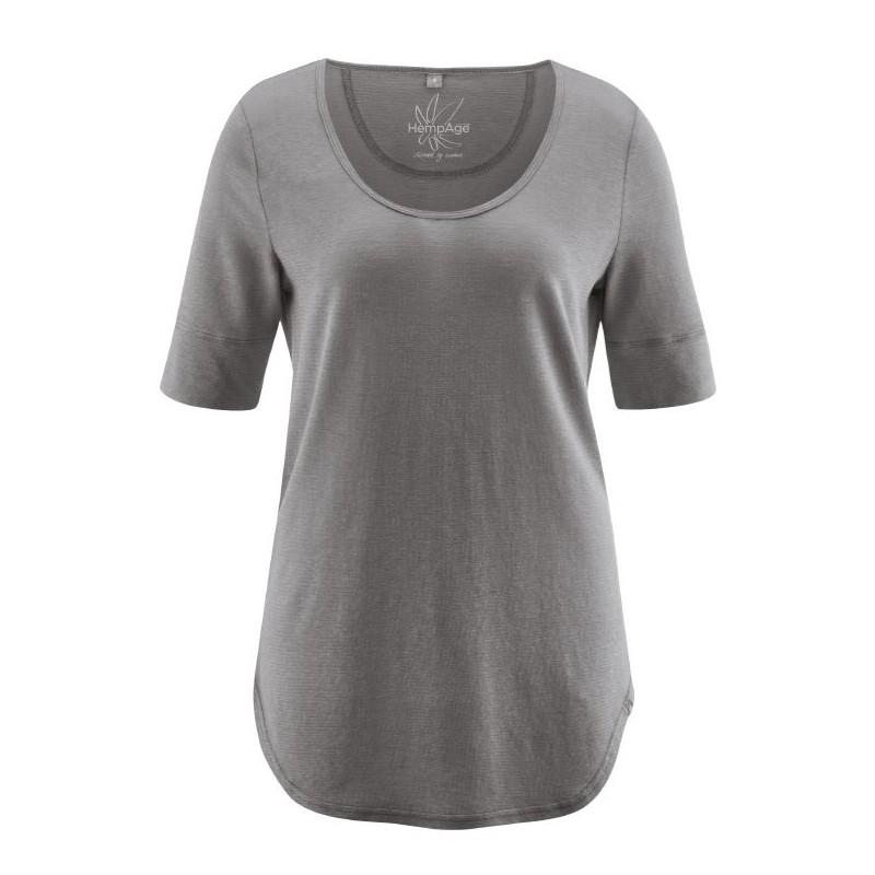 T-Shirt végan en chanvre et coton bio : clair ou foncé