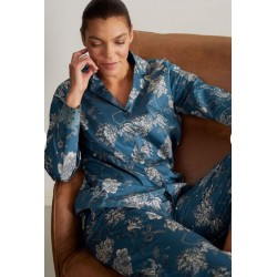 Organic Cotton twill Printed Pyjama Trousers