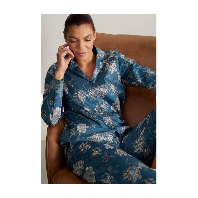 Pyjama femme 100% coton sergé bio