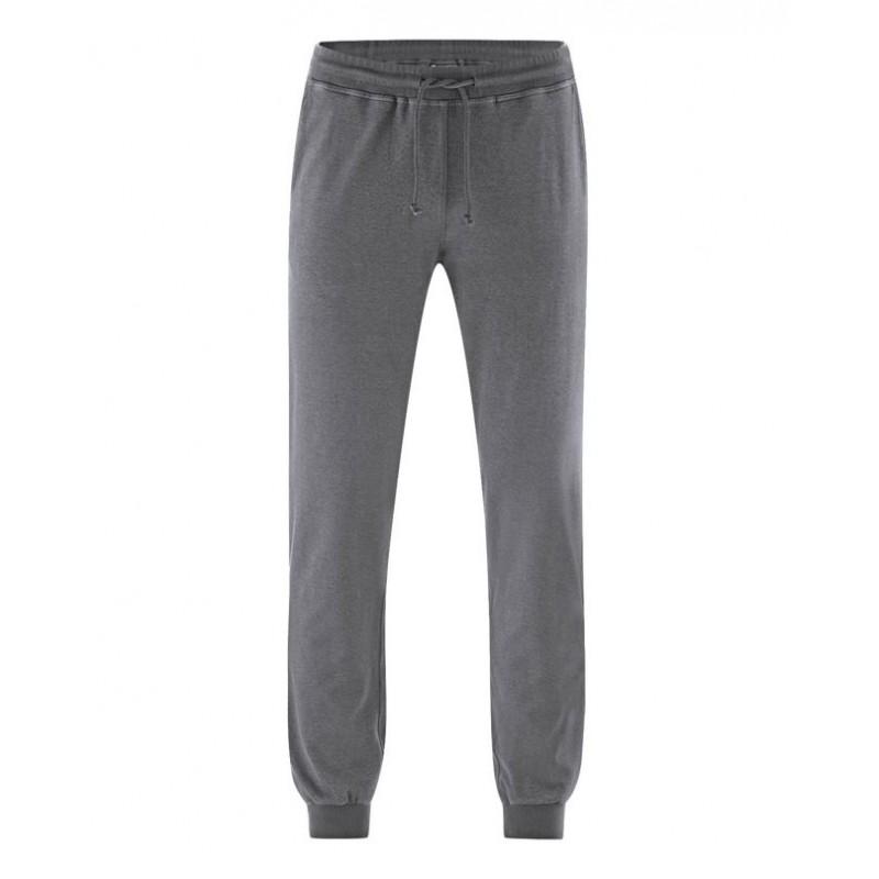 Dark Grey Hemp Jogging for man