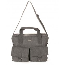Hemp Large City Messenger Bag