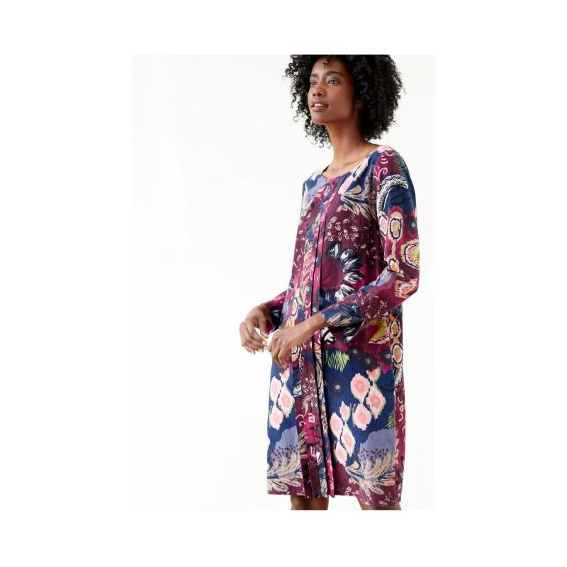 Shift dress woven hemp