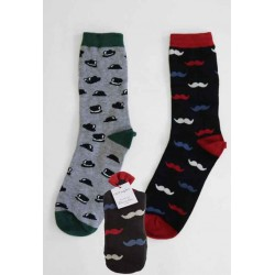Chaussettes bio homme bambou