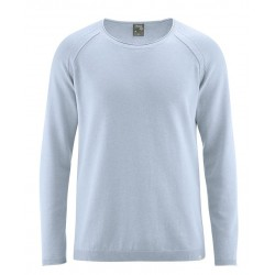 vegan knitted pullover for man Clear