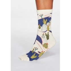 Organic Cotton Socks Cactus for women