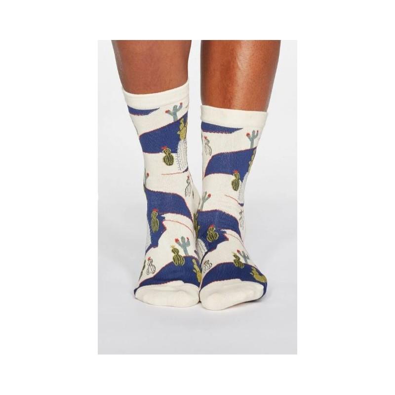 Organic Cotton Socks Cactus for women
