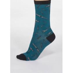 Coffret 4 paires de chaussettes en coton bio homme 'Outils'
