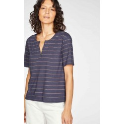 T-shirt en chanvre et coton bio jersey Femme
