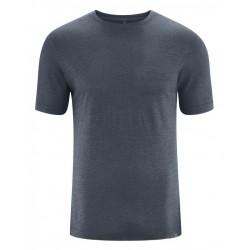 T-shirt en chanvre et coton bio manches courtes : crème ou foncé