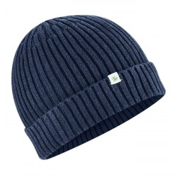warm knitted cap made of...