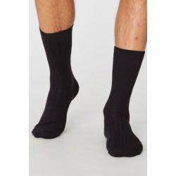 Hemp socks for men : Navy...